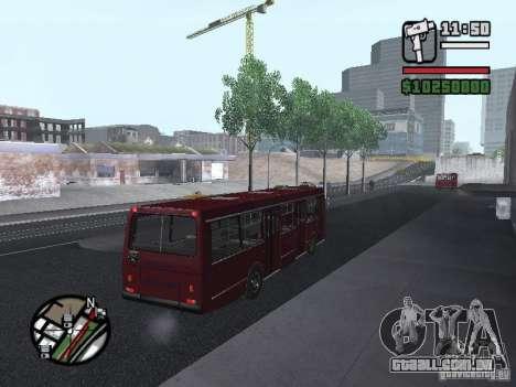 LAZ 5252 para GTA San Andreas vista direita