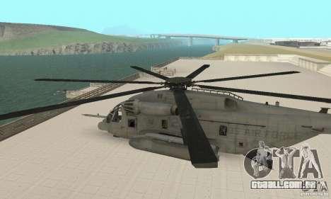 Sikorsky MH-53 para GTA San Andreas vista direita