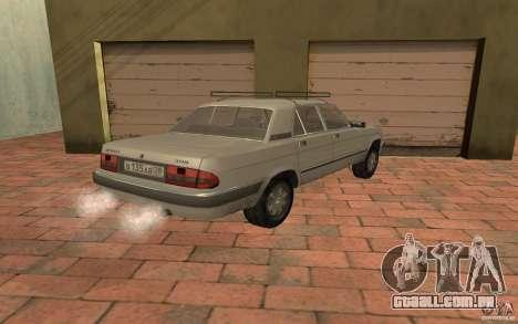 GAZ 3110 para GTA San Andreas esquerda vista
