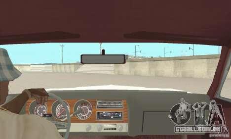 Pontiac LeMans 1971 para GTA San Andreas vista traseira