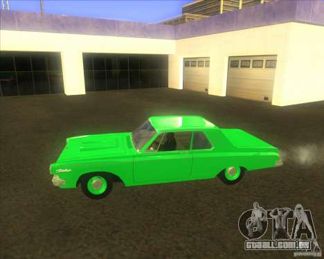 Dodge 330 1963 Max Wedge Ramcharger para GTA San Andreas esquerda vista
