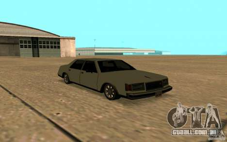FBI Washington para vista lateral GTA San Andreas