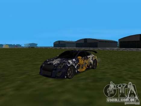 Infinity G35 Binsanity para GTA San Andreas