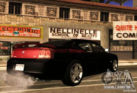 Dodge Charger R/T Daytona para GTA San Andreas vista superior