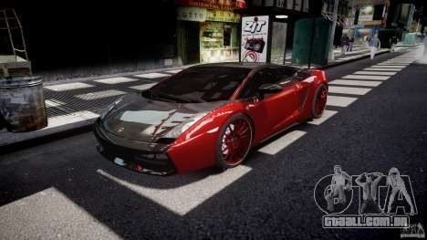 Lamborghini Gallardo Superleggera 2007 (Beta) para GTA 4