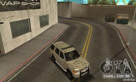 Ford Explorer 2002 para o motor de GTA San Andreas