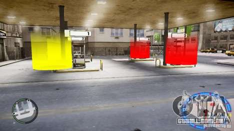 Fuel mod v3.0.0 (BETA) para GTA 4 segundo screenshot