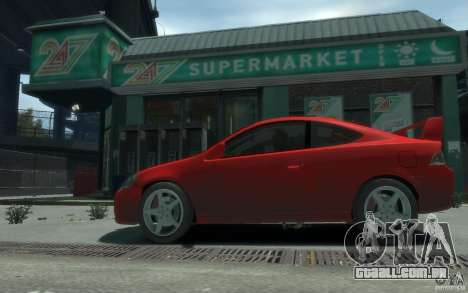 Acura RSX para GTA 4 traseira esquerda vista