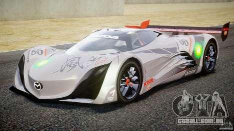 Mazda Furai Concept 2008 para GTA 4 esquerda vista
