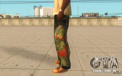 Hip-hop jeans para GTA San Andreas segunda tela