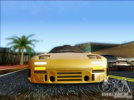 Diablo-Seven para GTA San Andreas traseira esquerda vista