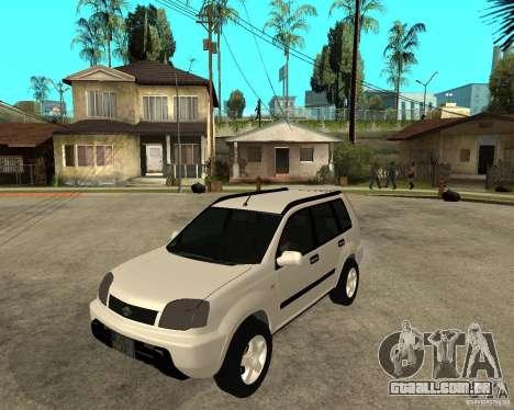 NISSAN X-TRAIL 2001 para GTA San Andreas