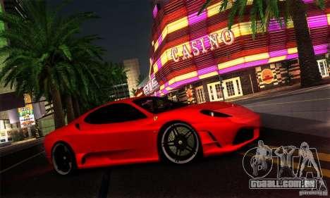 Ferrari F430 Novitec Rosso para GTA San Andreas traseira esquerda vista