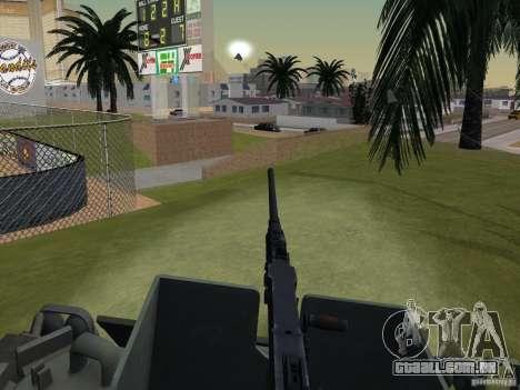 Bottom Feeder para GTA San Andreas vista traseira