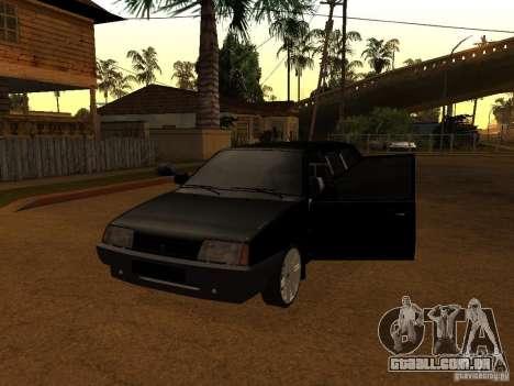 VAZ 21099 Limousine para GTA San Andreas esquerda vista