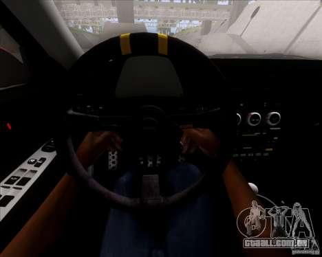 Lexus IS300 Hella Flush para GTA San Andreas vista inferior