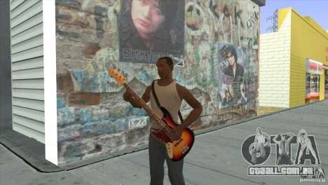 Músicas do filme na guitarra para GTA San Andreas twelth tela