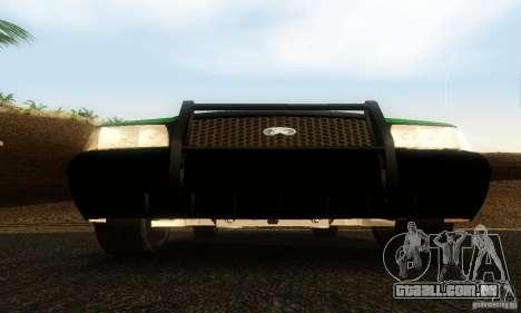 Ford Crown Victoria Vermont Police para GTA San Andreas vista traseira