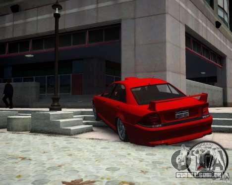 Schafter RS para GTA 4 traseira esquerda vista