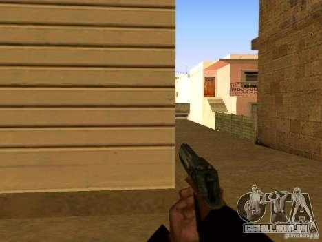 Desert Eagle MW3 para GTA San Andreas sétima tela