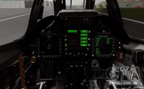McDonnell Douglas A-4AR Fightinghawk para GTA San Andreas vista traseira