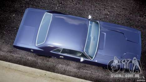 Dodge Challenger 1971 para GTA 4 vista direita