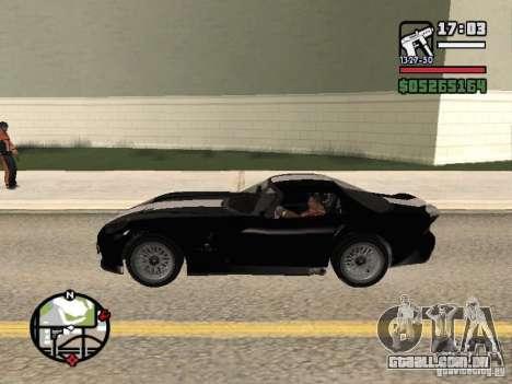 Banshee de GTA IV para GTA San Andreas esquerda vista