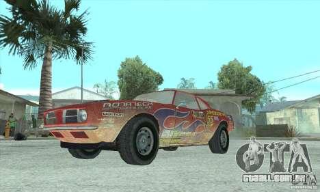 Speedevil de FlatOut para GTA San Andreas traseira esquerda vista