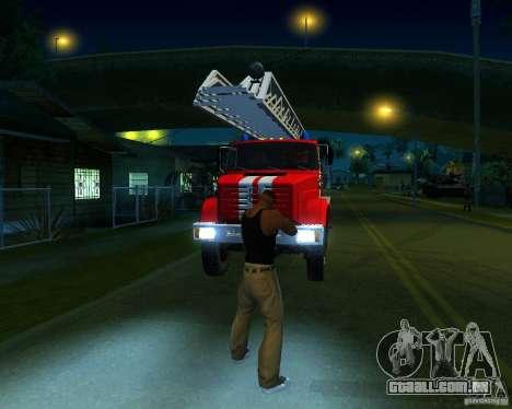 ZIL 4334 Al-30 para GTA San Andreas esquerda vista