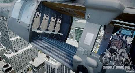 HH-60G Pavehawk para GTA 4 vista de volta