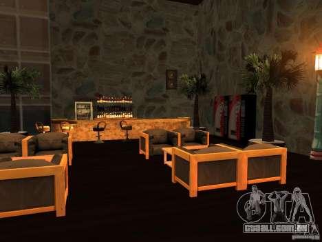 Clube sobre a água para GTA San Andreas sexta tela