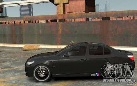 BMW M5 Hamman para GTA 4 esquerda vista