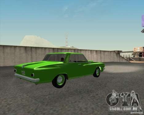 Plymouth Savoy 1962 para GTA San Andreas vista direita