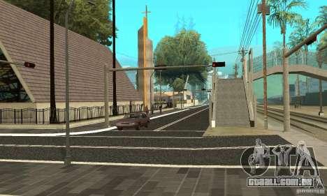Uma nova superfície de estrada (superfície) para GTA San Andreas segunda tela