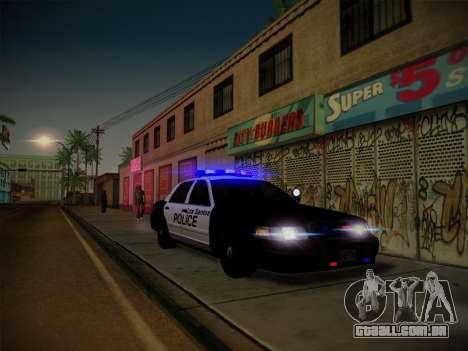 ENBSeries by Treavor V2 White edition para GTA San Andreas sexta tela