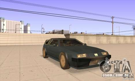 Deluxo HD para GTA San Andreas vista traseira