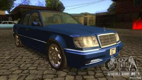 Mersedes-Benz E500 para vista lateral GTA San Andreas