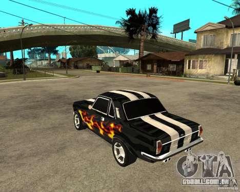 GAZ 2410 Camaro edição para GTA San Andreas esquerda vista