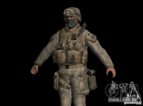 Pele Marine para GTA San Andreas