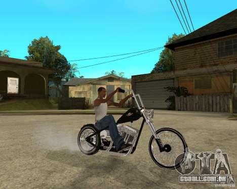 C&C chopeur para GTA San Andreas vista direita