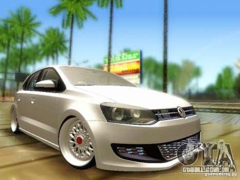 Volkswagen Polo 6R TSI Edit para GTA San Andreas
