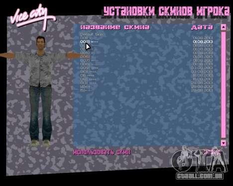 Camisa cinza para GTA Vice City sétima tela