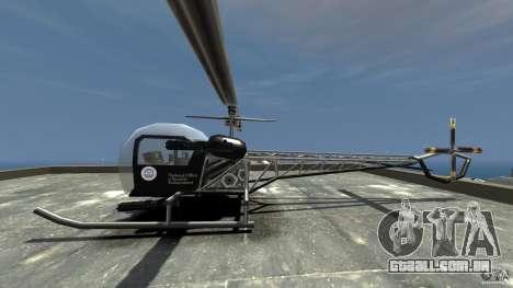 Sparrow Hilator para GTA 4 esquerda vista