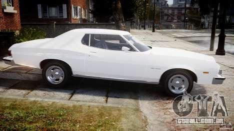 Ford Gran Torino 1975 v1.1 para GTA 4 esquerda vista