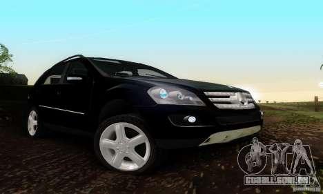 Mercedes-Benz ML500 para GTA San Andreas