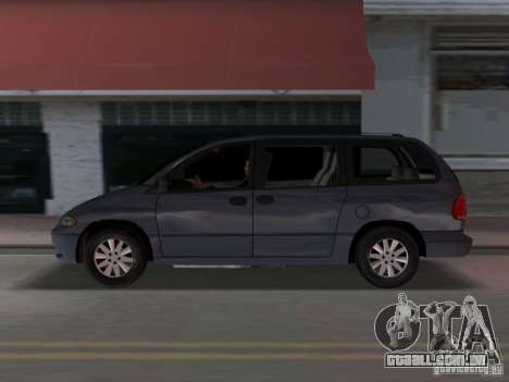 Dodge Grand Caravan para GTA Vice City deixou vista