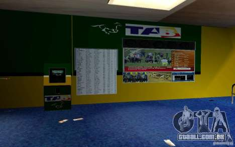 Novo escritório de Bukmejkerskaâ para GTA San Andreas quinto tela
