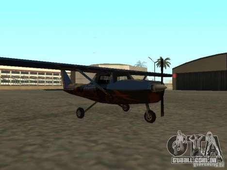 Um novo avião-Dodo para GTA San Andreas vista direita