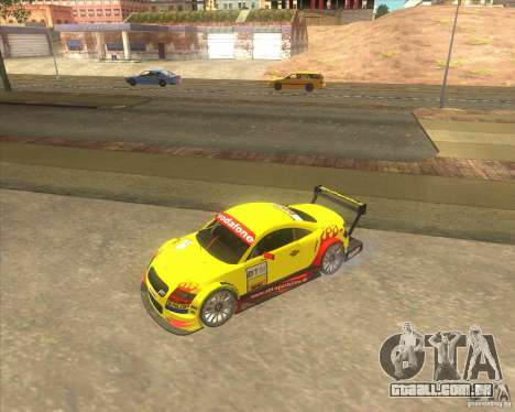 Audi TTR DTM racing car para GTA San Andreas