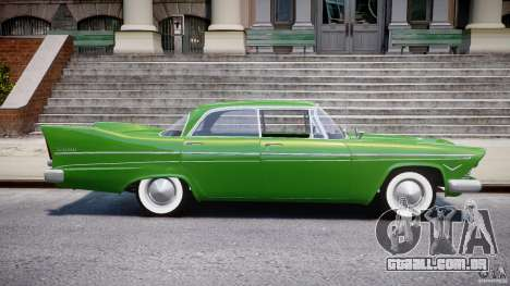 Plymouth Belvedere 1957 v1.0 para GTA 4 vista lateral